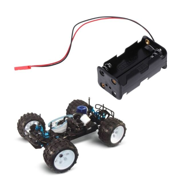 HSP 02070 AA Battery Container Case JST Plug For Nitro Power Car RC 1//10 1//8