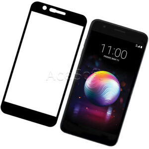 Black-Premium-Tempered-Glass-Screen-Protector-Film-for-LG-K30-X410ULMG-CellPhone