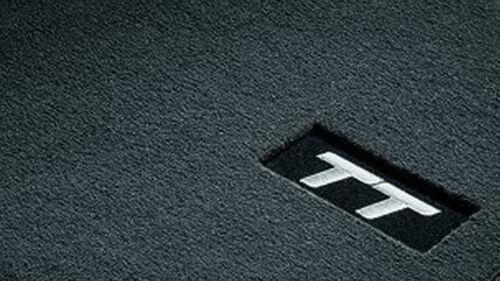 Original Audi TT Stoffmatten Textilfußmatten Fußmatten vorne 8J1061275 MNO