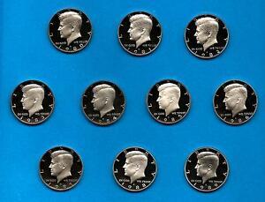 1980-S-through-1989-S-Clad-Proof-Kennedy-Half-Dollar-Set-of-10