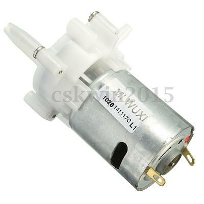 RS-360 Mini Motor Water Pumping Reversible Gear Pump Spray Priming Aquarium