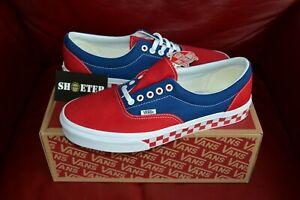 Vans-Era-BMX-Chex-Checkerboard-Skate-True-Blue-Red-VN0A38FRU8H-Size-4-13