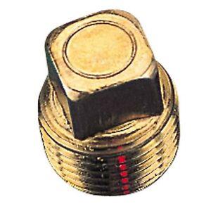 "Sea Dog 520041-1 Bronze Garboard Drain Plug 1/2"""