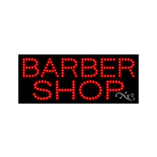 New Barber Shop 27x11 Solid Amp Animated Led Sign Withcustom Options 20381