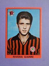 FIGURINA CALCIATORI MIRA FOOTBALL STICKERS RIVERA MILAN 1967-68 RARA NEW-FIO
