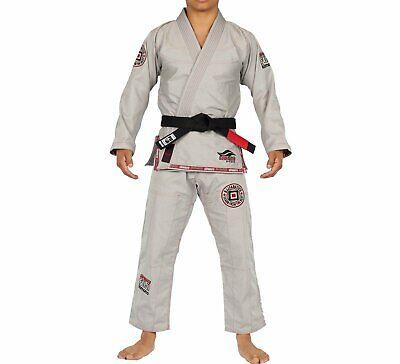 Black w White Fuji Suparaito Super Lightweight Mens Brazilian Jiu-Jitsu BJJ Gi