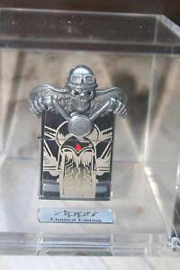 EDEL-ZIPPO-Ghost-Rider-Death-Skull-LIMITED-EDITION-2500-NEU