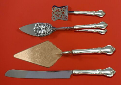Savannah by Reed and Barton Sterling Silver Dessert Serving Set 4pc Custom Made