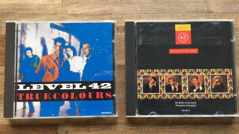 Level 42: 2 CD albums, pop