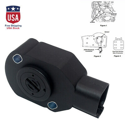 5.9L TPS APPS Throttle Position Sensor Fit For 98-07 Dodge RAM 2500 3500 Cummins 56028184AB//3970085