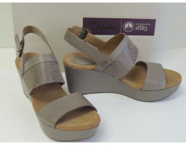 3163e0fcb7b Clarks Women s Caslynn Kat Sandals 9 M Sage Combi for sale online