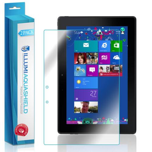 2x iLLumi AquaShield Clear Screen for Dell Venue 10//10 Pro 5000//5050//5055