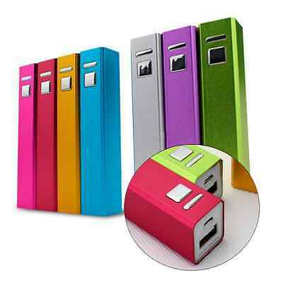 2600mAh Power Bank Portable 18650 Battery Charger for Apple iPod iPhone 4s 5 5s