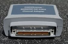 Microtest Omniscanner Cat 55e6 Channel Adapter Pn2950 4012 01