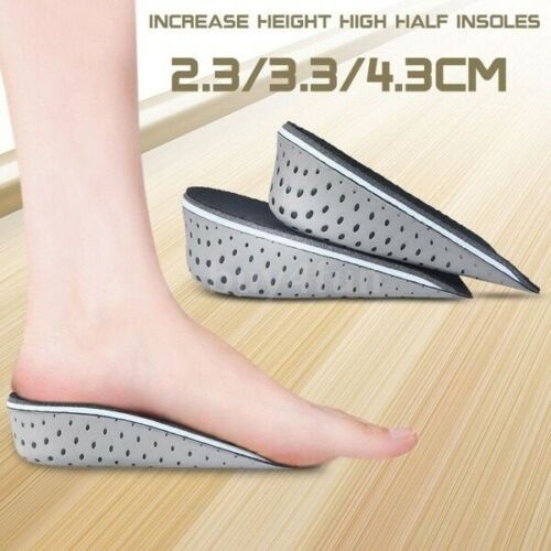 Shoe Height Increase Pad Insoles Heightening Comfortable Breathable Insole US