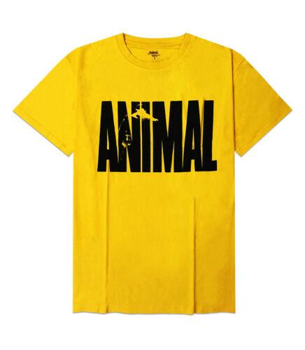 Universal Nutrition Animal Yellow T Shirt Tee