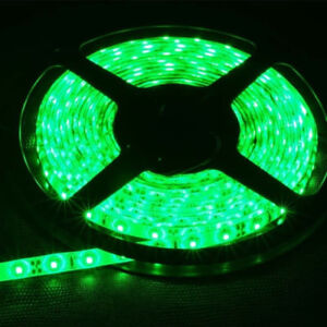 12v bright green waterproof flexible led strip lights 5m 300 leds image is loading 12v bright green waterproof flexible led strip lights mozeypictures Image collections