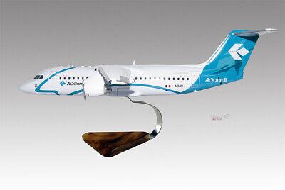 Sensible Bae 146-300 Air Dolomiti Solid Kiln Dried Mahogany Wood Handmade Desktop Model Models