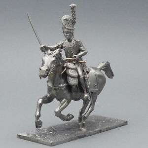 Tin-soldier-Officer-of-the-mounted-grenadiers-Napoleonic-Wars-54-mm