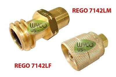 REGO 7142LM LEFT HAND ACME THREAD VALVE MOWER TANK 33.5 43.5 LB 8 10 VAPOR LPG