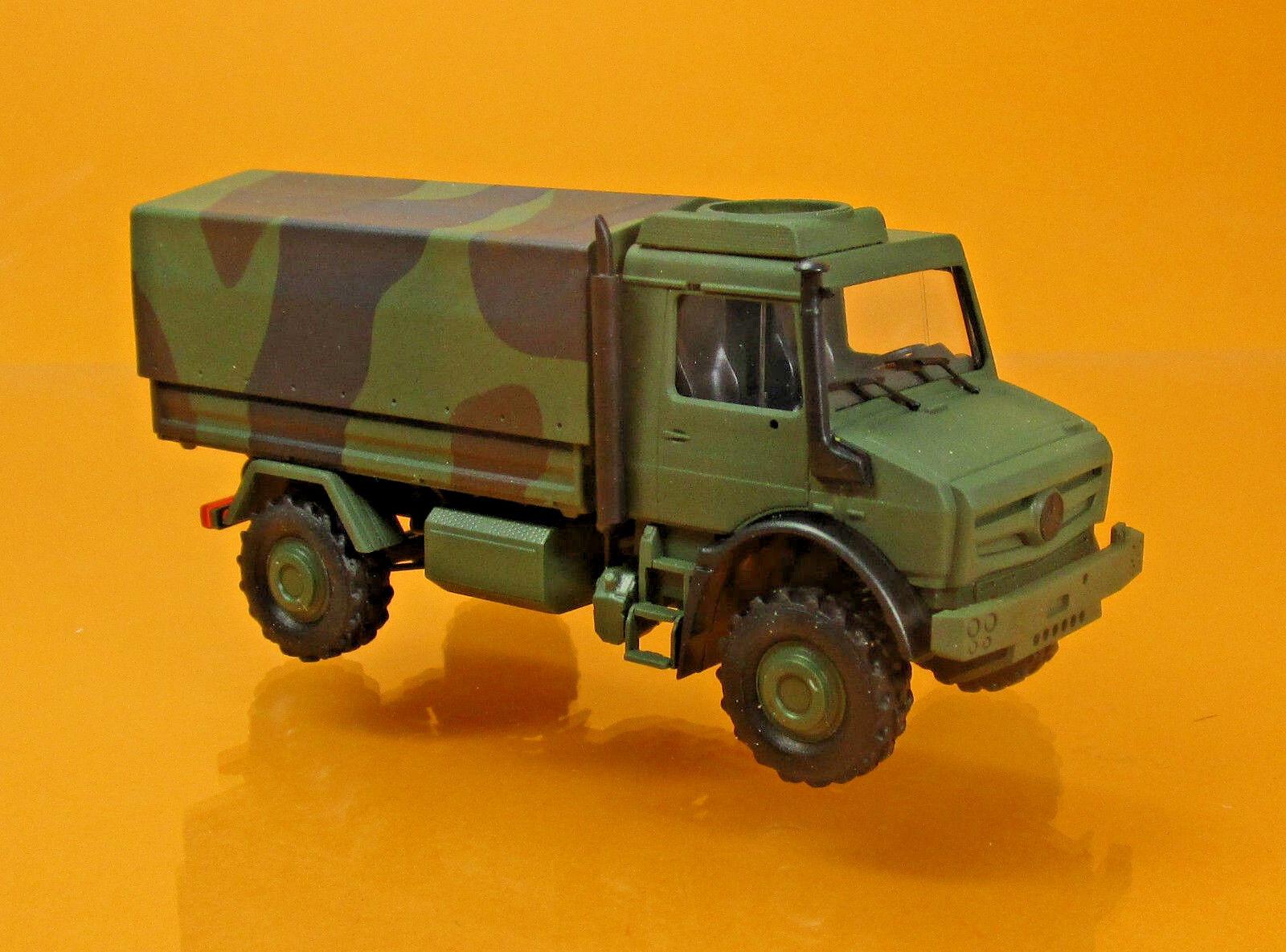 Busch 51021 Mercedes Benz Unimog U 5023 Militär Tarnfarben Bundeswehr LKW 1 87  | Toy Story