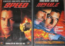 SPEED 1 + 2 - VHS/Action/Sandra Bullock/Keanu Reeves/FOX