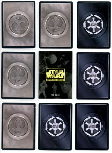 Premiere Rare1 Star Wars CCG UnLimited Edition 1//2 White Border Lightside