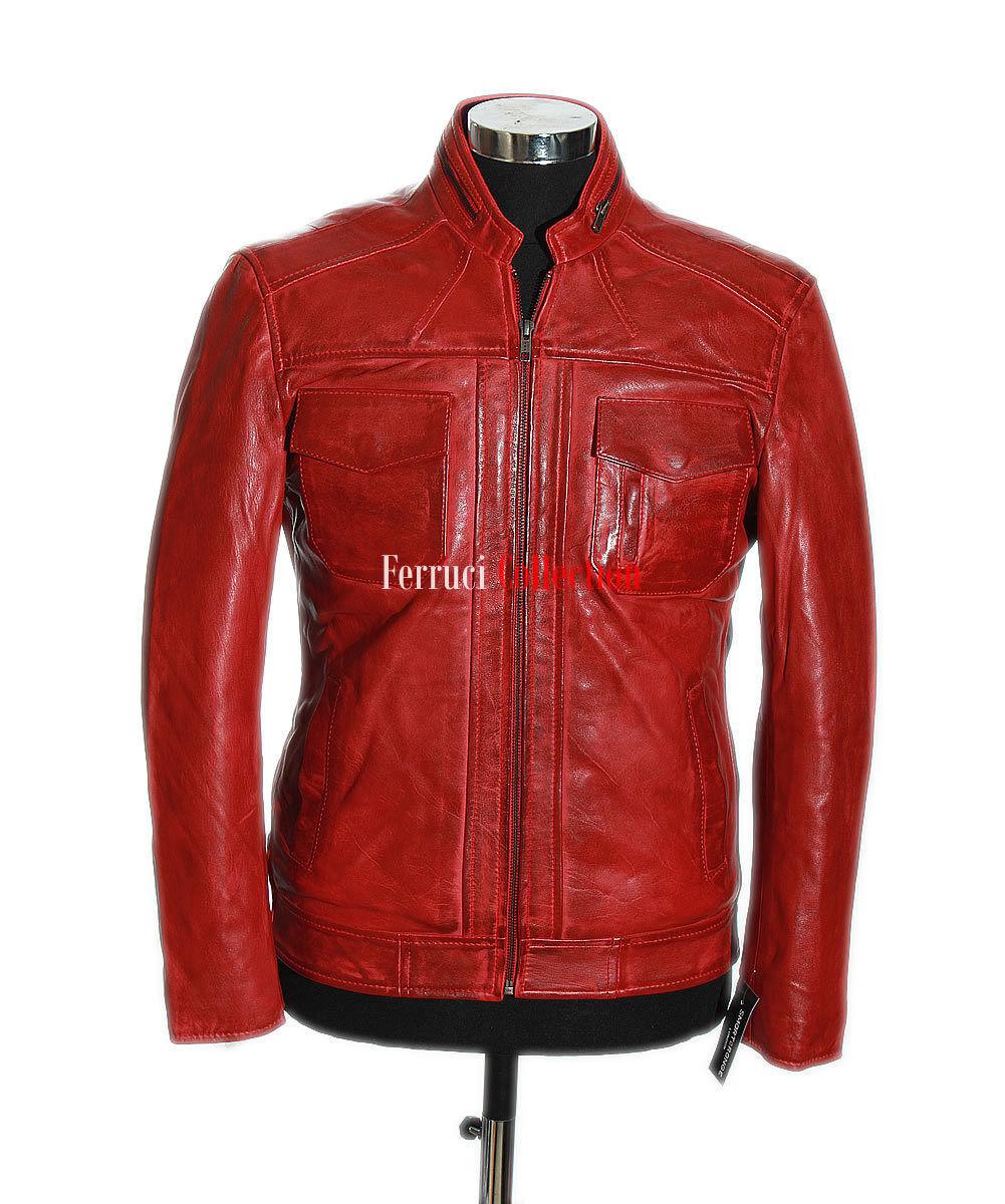 5bbba7ec5b Lee rosso rosso rosso Uomo'S NEW Classico Stile Retrò Casual Reale ...