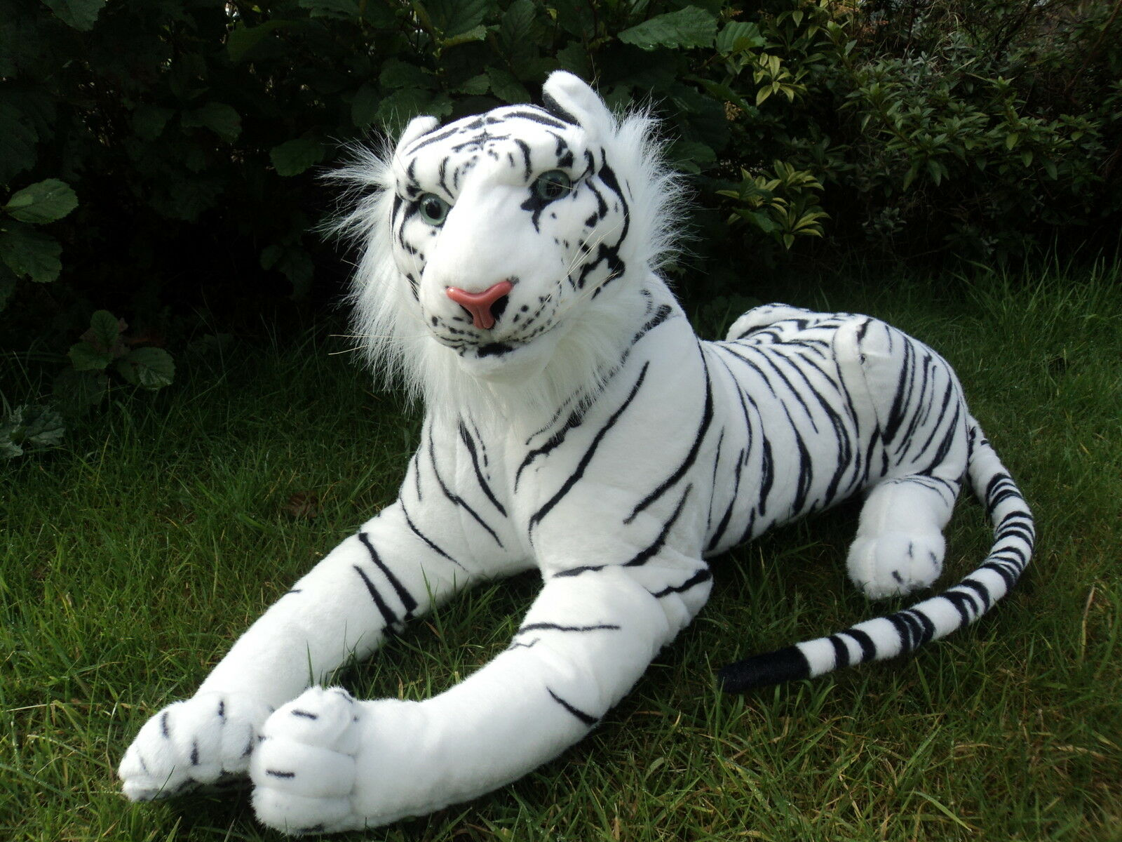Giant Tiger 75cm Soft Toy Plush Cuddly New Massive Size REAL LIFE LOOK