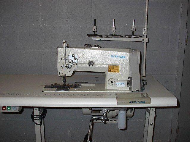 SEWLINE SL-872 NEW TOP QUALITY  2-NEEDLE BIG BOBBINS  INDUSTRIAL SEWING MACHINE