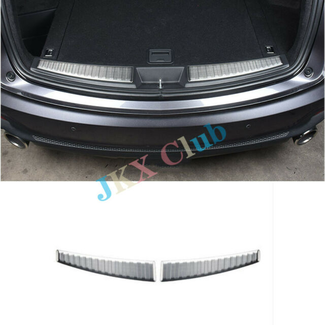 Fit FOR Acura RDX 2019 2PCS Stainless Steel Rear Bumper