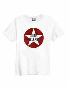 Amplificado-el-enfrentamiento-Star-Logo-White-Camiseta