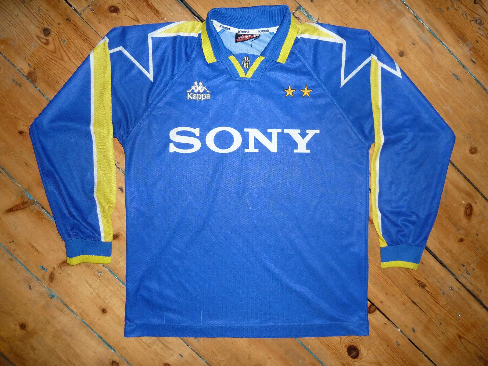 Gree Juventus Italia 199596 Trasferta Calcio Maglia Kappa uomoica Lunga