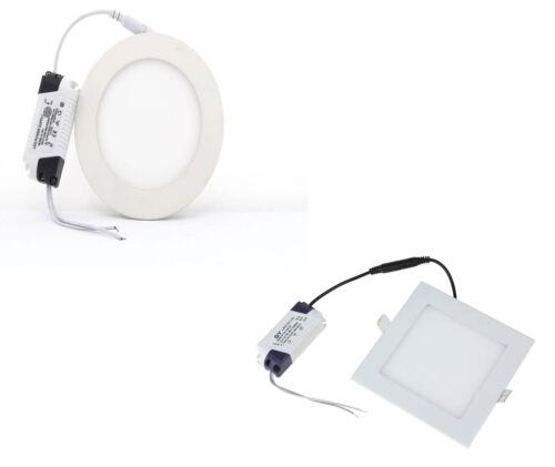 Led light 6 watts concealed light for false ceiling pop white led panel light 18 watts ceilingpopfalse ceiling panel light in all options aloadofball Images
