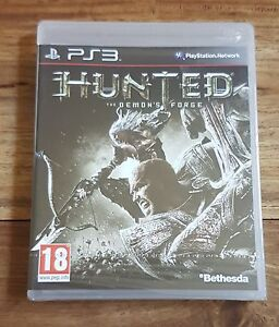 HUNTED-THE-DEMON-039-S-FORGE-Jeu-Sur-Sony-PS3-Playstation-3-Neuf-Sous-Blister-VF