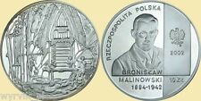 POLAND 2002 10zl Bronislaw Malinowski UNC
