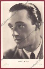 VITTORIO DE SICA 04 ATTORE ACTOR CINEMA MOVIE - SORA Cartolina REAL PHOTO 1937