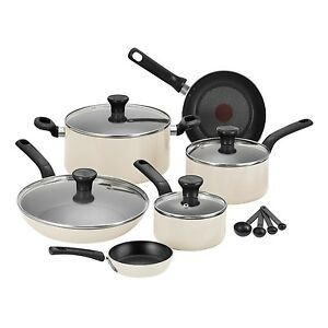 tefal 7pc excite non stick pot pan fry frypan saucepan. Black Bedroom Furniture Sets. Home Design Ideas