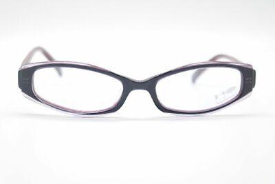 Vintage No Limits 8140 002 51[]17 140 Blau Lila Oval Brille Eyeglasses Nos Reisen