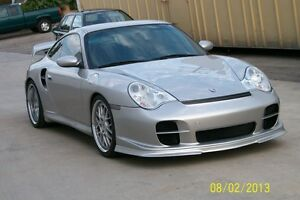 porsche 996 gt2 front bumper will fit 996 turbo and carrera 02 to 04 ebay. Black Bedroom Furniture Sets. Home Design Ideas