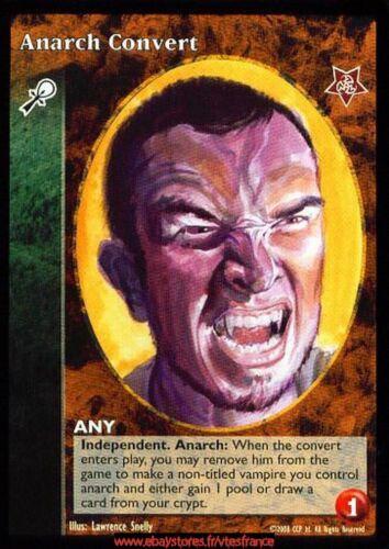 Caitiff Anarch Convert VTES V:TES Twilight Rebellion
