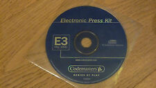 CD  DVD E3 May 2000 Electronic PRESS KIT  - Codemasters - Mc Ray - RARE ITEM