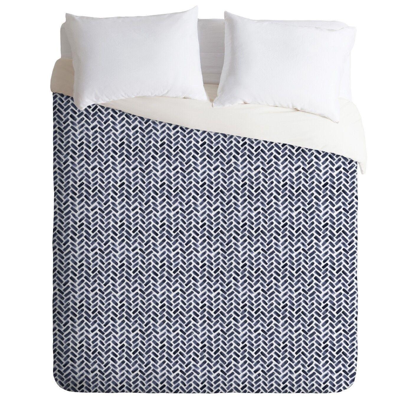DENY Designs Indigo Little Arrow Polyester WaterFarbe Königin Duvet Startseite