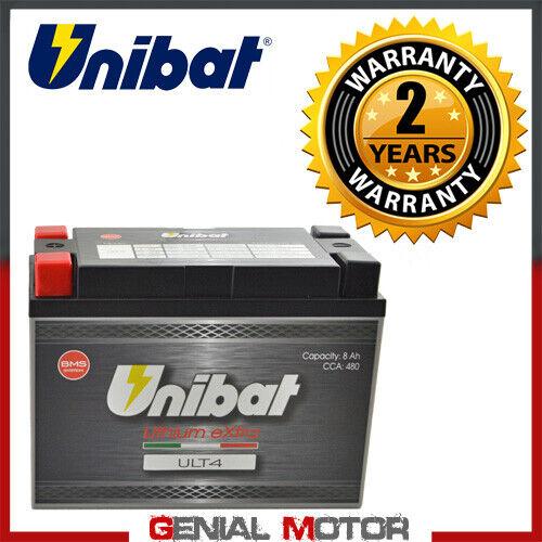 Unibat Lithiumbatterie ULT4 480A fur Bombardier Ds650 2000 /> 2006