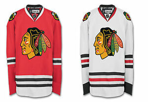 reputable site 55d57 ec29b Chicago Blackhawks Authentic Reebok Edge Jersey Official w ...