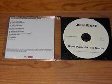 JOSS STONE - SUPER DUPER HITS, THE BEST OF / LIMITED ALBUM-CD 2011