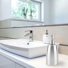 Stainless steel Liquid Pump Soap Lotion Dispenser Hand Sanitizer Bottle FE
