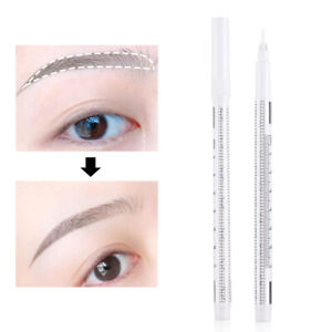 Eyebrow Surgical Mark Body Art Tattoo Skin Marking Pen Skin Scribe Tool Ebay