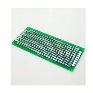 10pcs 2x8cm Double Seite Prototype PCB Universal Leiterplatte