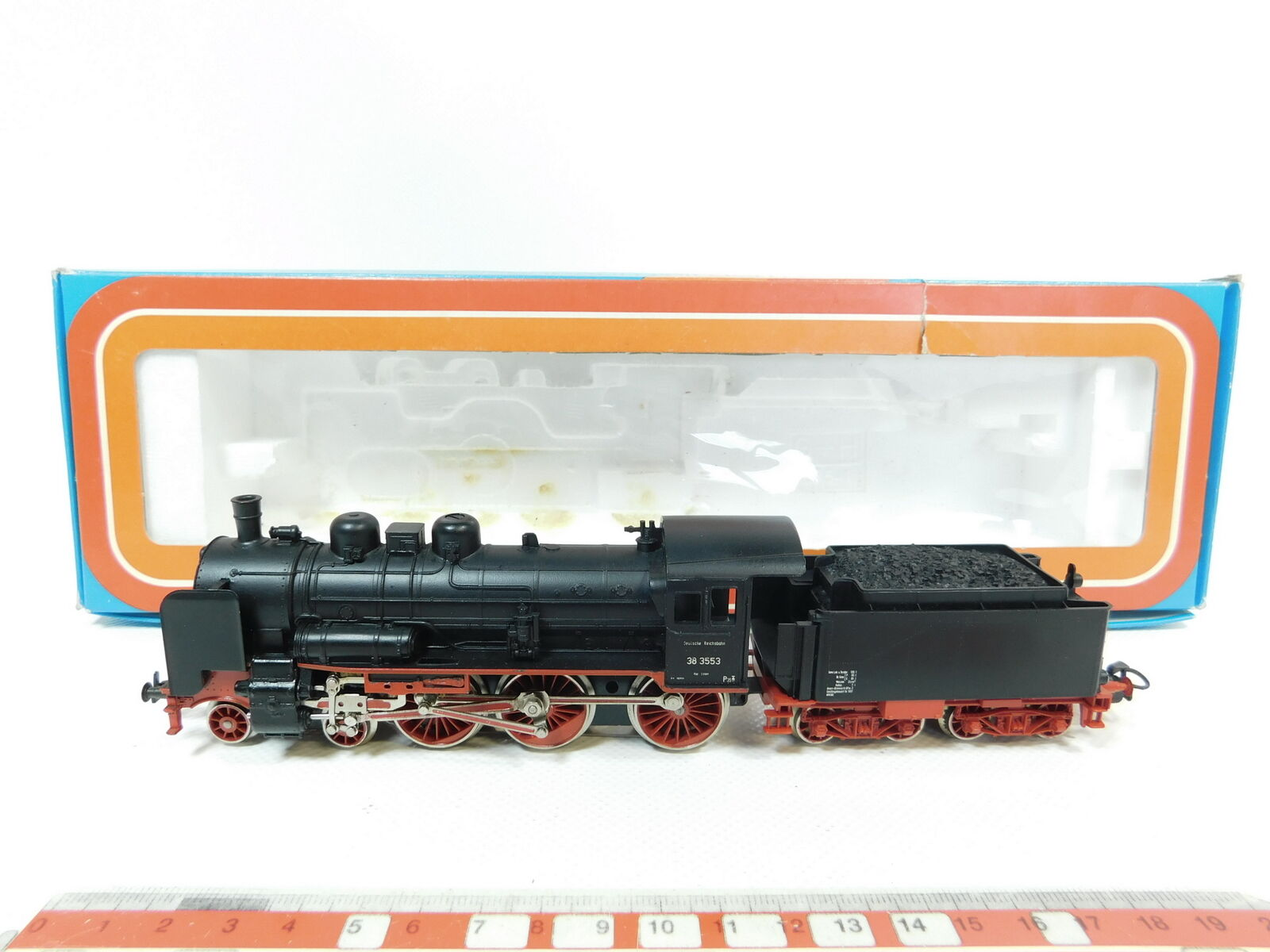 Bg48-1MÄRKLIN H0 AC 3099 Steam Locomotive   Steam Locomotive 38 3553 DRG, NIP
